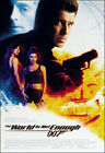 The World Is Not Enough Movie Poster Print - 1999 - Action - 1 Sheet Artwork $19.96 USD on eBay