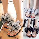 Fashion Women Summer Outdoor Bow Toed slippers Korean Rhinestone Sandals