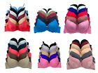 Lot 3 or 6 Underwire Sexy Star Lace Women Full Cup / Demi PUSH UP Pushup B/C Bra