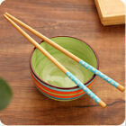 1pairs Chinese Vintage Beautiful Various Pattern Classic Wooden Chopsticks QW