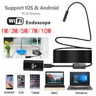 8LED Wireless Waterproof Borescope Endoscope Inspection Camer For Samsung Mobile