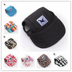 red dog sports - Pet Dog Hat Baseball Cap Windproof Travel Sports Sun Hats for Puppy Large Dogs