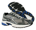 Fila Testament 5 Mens Running Shoe Blue Sz