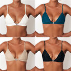 Women Swimwear Bikini Tops Swimsuit Ladies Push-up Bra Beachwear One-Piece QE