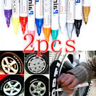 Tire Permanent Paint Marker Pen Car Rubber Universal Waterproof Oil Based White