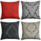 """Downtown Floral Cushion Cover Luxury Flock Filigree Cushion Covers 22"""" x 22"""""""