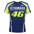 Valentino Rossi VR46 Moto GP Yamaha Factory Racing Team T-shirt Offiziell 2018