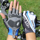 Unisex Summer Cycling Half Finger Gloves Shockproof  Mountain Bike Gloves MTB