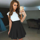 Women Lace Short Dress Cocktail Party Evening Formal Ball Prom Mini Dresses US