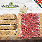 Wild Bird Suet Cakes, [ 40 PACK ] Energy Cakes. Handmade by Winston Wilds.