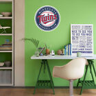 Minnesota Twins MLB Team Logo Color Printed Decal Sticker Car Window Wall on Ebay