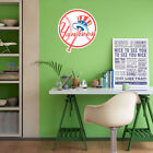 New York Yankees MLB Team Logo Color Printed Decal Sticker Car Window Wall on Ebay