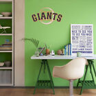 San Fransisco Giants MLB Team Logo Color Printed Decal Sticker Car Window Wall on Ebay