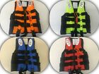 adult kids lifesaving sailing boating vest aid sports swimming life jacket s/m