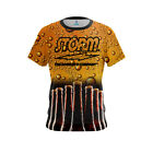 Storm Mens Dye Sub Beer CoolWick Performance Crew Bowling Shirt