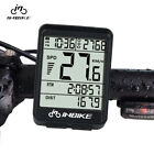 Wire Wireless Cycling Bike Computer Bicycle Waterproof LED Speedometer Odometer