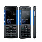 Nokia Xpress Music 5310 (Unlocked) Camera Mobile Bar Phone - Black Red Blue - UK