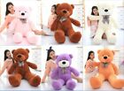 Plush 60-140cm Teddy Bear Large Toys Kids Teddy Bear Giant Teddy Bears Big Soft
