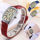 Fashion Women Faux Leather Casual Watch Luxury Analog Quartz Ladies Wristwatch