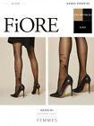 Fiore Rondini Smooth Patterned Tights With A Delicate Patterns Animal Motif
