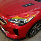 Headlight Point Eyeline Eyebrow Unpainted For 2017 2018 Kia Stinger