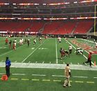 (2) Atlanta Falcons v. Tampa Bay Bucs - 10/14/18 - Second Row, Lower Level