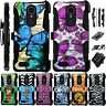 For LG K30/K10 2018/ K10 Plus / Alpha / X4/LM Holster Case Cover LuxGuard G7