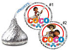 DISNEY COCO BIRTHDAY PARTY FAVORS HERSHEY KISS KISSES LABELS