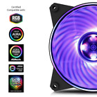 Cooler Master MasterFan MF120L RGB Blue Red Silent Computer Fan Cooler 120mm