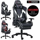 GTFORCE FORMULA MX RECLINING LEATHER SPORTS RACING OFFICE DESK CHAIR GAMING