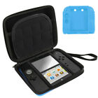 Hard Shell Carrying EVA Bag+Soft Silicone Bumper Case Cover fr Nintendo 2DS US