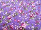 BY THE YARD Country French Floral Stripe 100% Cotton Quilting Fabric Traditions