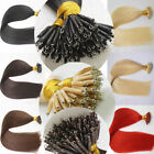 New Double Drawn Micro Nano Ring Beads Remy Human Hair Extensions 14-24Inch 50s