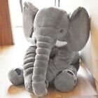 Children Baby Long Nose Large Elephant Doll Soft Plush Stuff Toys Lumbar Pillow фото