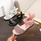 2018 Summer Kids Girls Princess Party Dress Shoes Cute rabbit Sequins Sandals  for sale  China