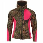 TrailCrest Women's Camo Custom Xrg Full Zip Soft Shell Hoodie