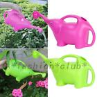 Cute Gardening Elephant Plant Watering Can Plastic Pot Children Kids Tools 2L