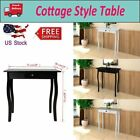 Lodge Style Small Console Table Side End Hall Table Hallway Home Furniture US