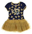 NFL Little Girls Los Angeles Rams Love To Dance Tutu