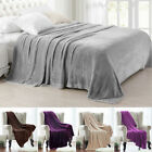 Soft Mink Faux Fur Throw Fleece Warm Large Sofa Bed Blanket Double  image