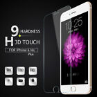 Premium Real Screen Protector Tempered Glass Film iPhone 4 4S 6 6S 7 8 X Plus