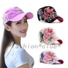 Lady Summer Baseball Cap Women Flowers Butterfly Embroidered Golf Hat 5 colors