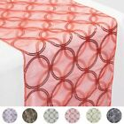 """14x108"""" Circle Sequin Table Runner WEDDING PARTY Reception Dinner DECORATIONS"""