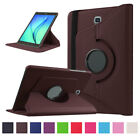 For Samsung Galaxy Tab S2 9.7 Intelligent Magnetic Leather Rotating Stand Cover Case