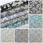 Busy Lizzie 100% cotton fabric per 1/2 Metre or fat quarter 5 colours