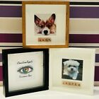 PERSONALISED PET DOG PICTURE FRAME WITH THERE NAME GIFT PRESENT IDEA