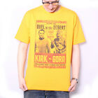 Star Trek T shirt - Duel In The Desert Kirk Vs Gorn 100% Official US Import on eBay