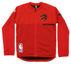 Adidas NBA Youth Toronto Raptors Full-zip On Court Jacket, Red