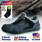 Safetoe Safety Shoes Mens Work Boots Grey Sports Light Weight Steel Toe Hiking