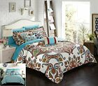 Chic Home La Harpe 10 Piece Comforter Complete Bed in a Bag Set GSM Microfiber
